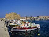 Paphos Harbour  Cyprus  Europe