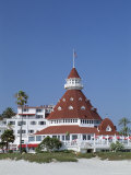 San Diego's Most Famous Building  Hotel Del Coronado Dating from 1888  San Diego  California  USA
