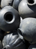 Black Pottery Typical of Oaxaca Area  Mexico  North America