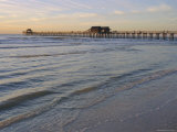 Naples Beach and Pier  Naples  Florida  USA