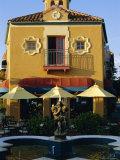 1920s Spanish Style Architecture in Downtown Sarasota  Florida  USA