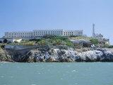 Alcatraz Island  Site of the Infamous Prison  San Francisco  California  USA