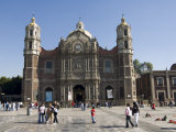 The Antigua Basilica Adjacent to the Basilica De Guadalupe  Mexico City  Mexico  North America