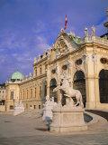 Belvedere  Castle  Vienna  Austria
