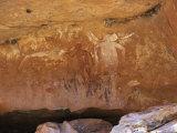 Aboriginal Painted Figures of Varied Periods  Kimberley  Western Australia