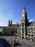 City Hall on Marienplatz  Munich  Bavaria  Germany  Europe