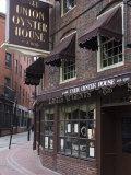 The Oyster Union House  Blackstone Block  Built in 1714  Boston  Massachusetts