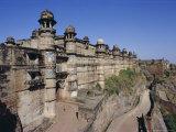 Main Entrance to Fort  Gwalior  Madhya Pradesh State  India  Asia