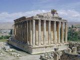 Temple of Bacchus  Baalbek  Lebanon  Middle East
