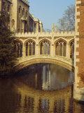 The Bridge of Sighs  St John's College  Cambridge  Cambridgeshire  England  UK