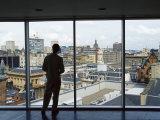 Skyline of City Centre  Glasgow  Scotland  United Kingdom  Europe