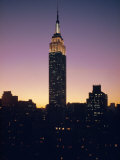 The Empire State Building  New York  New York State  USA