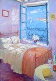 CHAMBRE Reproduction d'art par Paula Nightingale