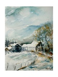Watercolor Sechery 1107