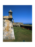 Towers of El Morro Fort Old San Juan Puerto Rico