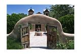 Adobe Gates El Santuario de Chimayo New Mexico