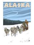 Dogsledding  Alaska