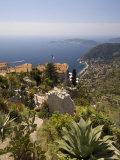 Eze Village  Alpes Maritimes  Provence  Cote d'Azur  French Riviera  France  Mediterranean  Europe