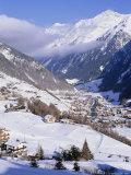 Valley Above Town of Solden in the Austrian Alps Tirol (Tyrol)  Austria  Europe