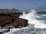 Waves at the Cape of the Good Hope  Cape of the Good Hope  Capetown  South Africa