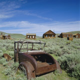 Ghost Town of Bodie  California  USA