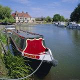 River Ouse Boating  Ely  Cambridgeshire  England