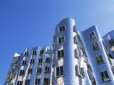 The Neuer Zollhof Building by Frank Gehry  Nord Rhine-Westphalia  Germany