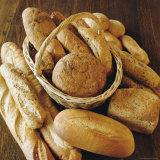 Bread Loaves and a Basket