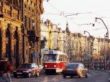 Tram  Prague  Czech Republic