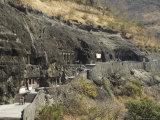 Ajanta Cave Complex  Maharastra  India