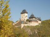 Gothic Castle of Karlstejn (1348)  Central Bohemia  Czech Republic