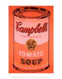Campbell's Soup Can, c.1965 (Orange) Reproduction d'art par Andy Warhol