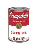 Campbell's Soup I: Green Pea, c.1968 Reproduction d'art par Andy Warhol