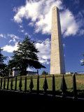Bunker Hill Monument in Charlestown  Massachusetts