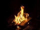 Campfire in Halsey  Ne