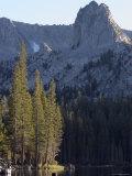 Crystal Crag above Lake George at Mammoth Lakes  California