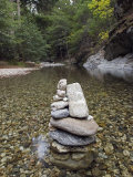 Low Clear Water on the Big Sur River at Sykes Hot Spring  California