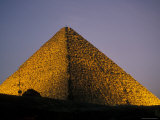 Pyramid at Dusk in Egypt