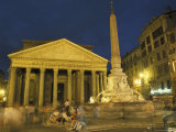 Pantheon Built by Hadrian in Rome  Italy