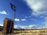 Historic Windmill in Mountain Valley