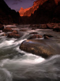 Granite Falls at Sunset in the Grand Canyon  Colorado