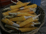 Raw Corn Sold at an Outdoor Market  San Cristobal de Las Casas  Mexico