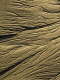 Sand Pattern at Low Tide on Sand Dollar Beach in Big Sur  California
