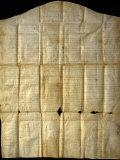 Original Copy of the Canandaigua Treaty of 1794  Washington  DC