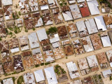 The Dense Tin Roofs Tops of Sprawling Zanzibar
