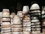 Stacked Clay Pots  Parma  Italy