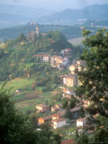 Small Hill Town in the Eastern Piemonte  Italy