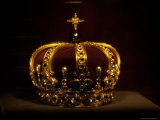 The Crown of Prussia on Display at Burg Hohenzollern Castle