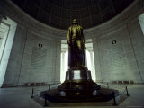 The Interior of the Jefferson Memorial  Washington  DC