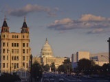 US Capitol Building from Constitution Avenue  Washington  DC